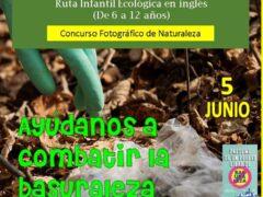 Batida de limpieza vecinal en los márgenes de la carretera de Caraquiz (Uceda)