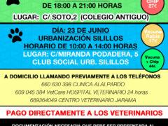 Comienza la Campaña de Vacunación Antirrábica 2021 en Valdetorres de Jarama
