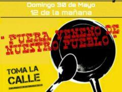 Polémica y manifestación en Fuente el Saz contra una empresa que ofrece «evolución interior» y utiliza sustancias