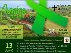 El Ayuntamiento de Uceda organiza la «II Marcha Solidaria contra el Cáncer»