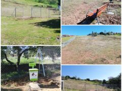 El Ayuntamiento de Uceda construye un parque canino en Caraquiz