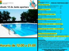 Se abren las piscinas de Valdetorres de Jarama de la temporada 2021
