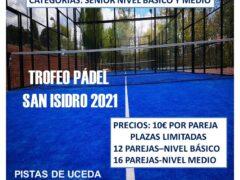 Uceda celebra el Trofeo de Pádel San Isidro 2021