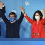 Auténtica movilización madrileña para pintar el mapa de azul por el 'efecto Ayuso'