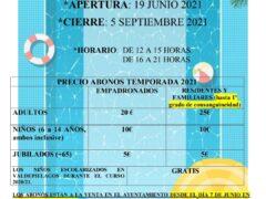 Valdepiélagos abre sus piscinas el próximo 19 de junio