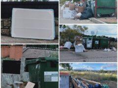 Continúan los vertidos incontrolados de basuras en la urbanización Caraquiz de Uceda