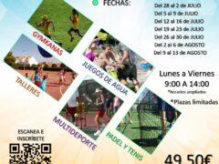 El Ayuntamiento de Uceda oferta su campamento de verano 2021