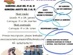Cursos intensivos de patinaje en Uceda y Caraquiz