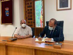 El Presidente de las Cortes de Castilla-La Mancha visita Uceda