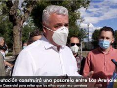 El Presidente de la Diputación de Guadalajara inaugura la pista de Pump Track de El Casar