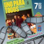 Cine de Verano en la urbanización Caraquiz (Uceda) con la película «Uno para todos»