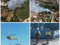 El alcalde de Uceda explica a los vecinos lo ocurrido en el incendio de Caraquiz