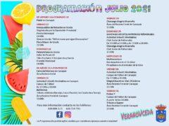 Música, cine, magia, diversión y deportes, en la programación Cultural y Deportiva de Uceda