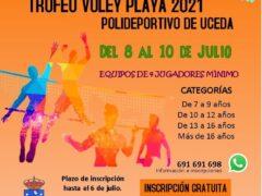 Uceda celebra el Trofeo Voley Playa 2021