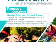El Ayuntamiento de Talamanca de Jarama organiza una salida Multiaventura al embalse de Buitrago