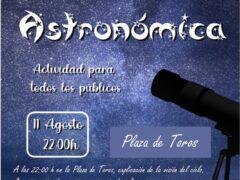 El Ayuntamiento de El Casar organiza una jornada noctura de «Observación Astronómica»