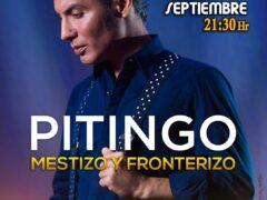 Pitingo actuará en Valdetorres de Jarama con su «Mestizo y Fronterizo»