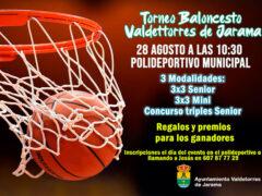 Torneo de Baloncesto en Valdetorres de Jarama