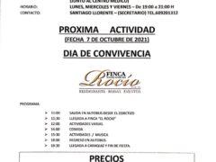 Día de Convivencia de la Asociación de Mayores «Encuentro» de Uceda y Caraquiz