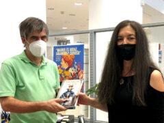 La Biblioteca Ruiz Egea de Chamberí (Madrid) recibe el libro de «Leonor y la sombra de la Dama Negra»