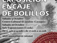 Exposición de «Encaje de Bolillos» de las bolilleras de Caraquiz (Uceda)