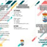 El Ayuntamiento de Talamanca de Jarama publica la Oferta Deportiva Infantil y Juvenil para el curso 2021/2022