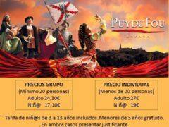 El Ayuntamiento de Uceda organiza una visita al Parque Histórico de Toledo Puy du Fou