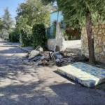 El Ayuntamiento de Uceda denuncia los continuos vertidos incontrolados en las calles de Caraquiz