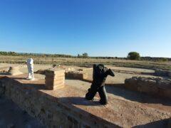 La Villa romana de Valdetorres de Jarama ya tiene réplicas de algunas esculturas y pinturas