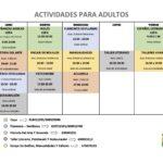 El Ayuntamiento de Valdetorres de Jarama publica sus actividades extraescolares y para adultos