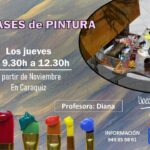 El Ayuntamiento de Uceda organiza clases de pintura en Caraquiz