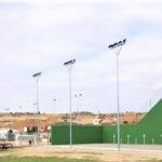 Finalizan las obras del recinto deportivo de Mesones (El Casar)